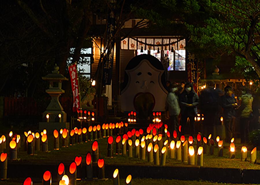 宇久島神社節分祭