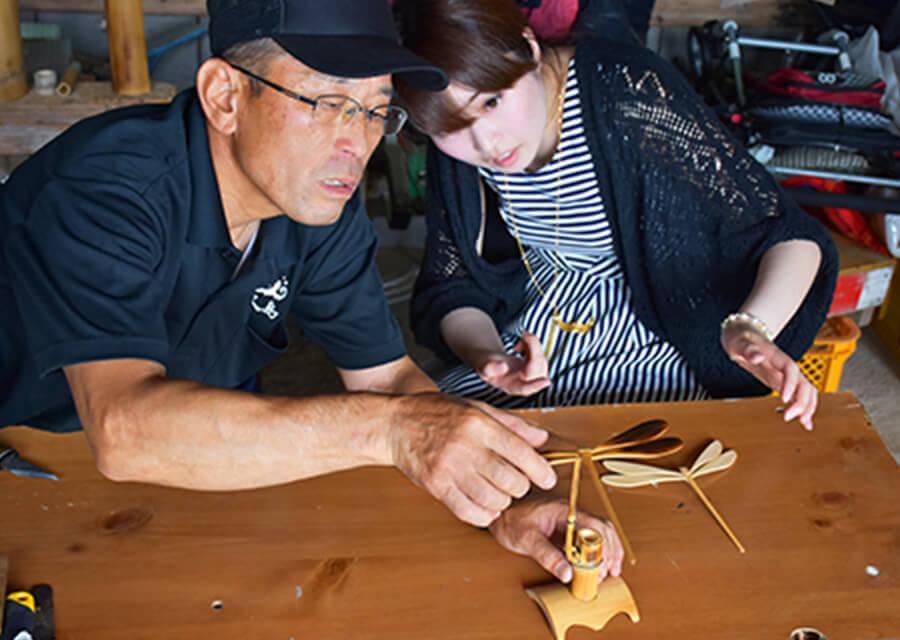 竹細工づくり体験