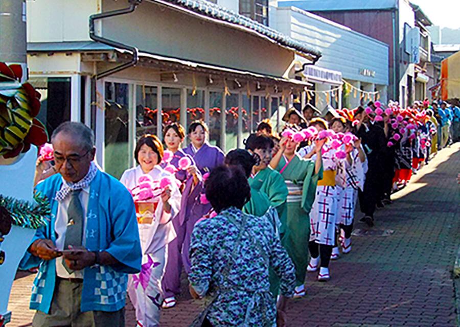 神島神社例大祭(おくんち)